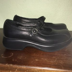 Dansko Mary Jane Clog A05 size 39 Black